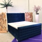 boxspring velours